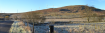 A photomontage showing how the turbines could look from Glen Fruin.