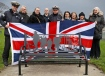 Helensburgh's Armed Forces community unite for Kidston Remembrance bench